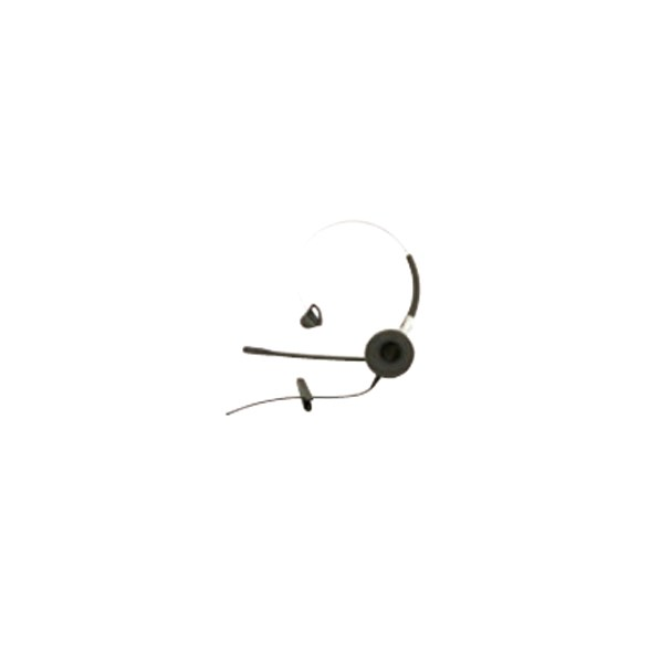 "Headset ""mic on boom"" med QD - d43/63"